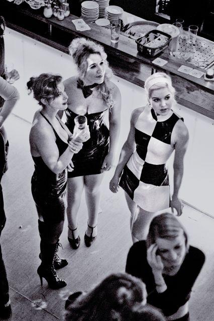 Charming Filth festival hostesses